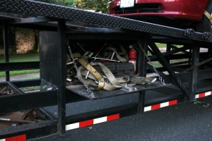 Car-securing equipment